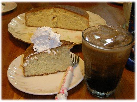 手作りケーキ071005