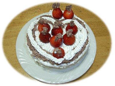 ミー作ケーキ