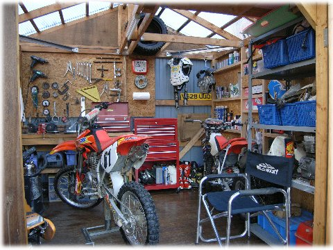 Diy for Motorized bicycle repair shop