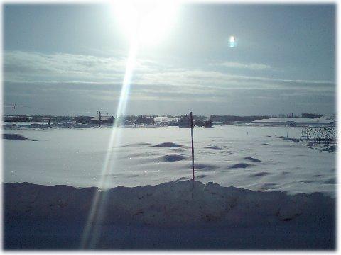 旭川雪景色