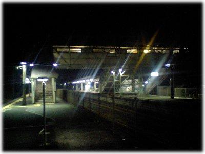 帰りの駅071120