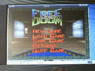 LxDoom画面